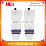 Hongen apparel Red and blue stripe hockey socks camo hockey socks