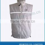 large training running vest jacket for men