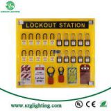 10-Lock Board Only Board Tag/Tagout Lockout Station