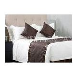 Twin Size Cotton Yarn Luxury Hotel Bed Linen Beddings For Super 5 Star Hotel or Household