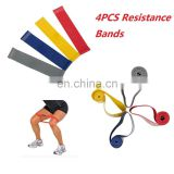 Yoga 4pcs Resistance Loop Band Exercise