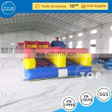 Plato trampoline interactive bungee run kids inflatable boxing ring on sale
