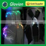 Pop party LED flashing light gloves light-up gloves light show gloves for sale