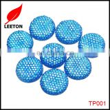 Factory supply DIY 18mm 3D round rhinestone resin patch for jewelery