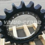 Hitachi KH100-1 wheel drive crawler crane sprocket-wheel undercarriage parts driving roller sprocket
