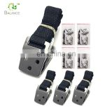 baby safety product glass block tv furniture nylon furniture strap with metal buckle for TV safety for anti-tip