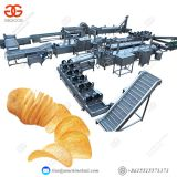 Factory French Fries Making Equipment Industrial Potato Chips Making Machine