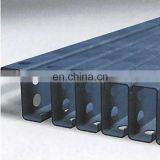 Structural Steel Galvanized Carbon Mild Z C U Channel Steel Profile , Z Purlin Z Beam Z Bar Section Steel for Roofing