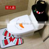 Christmas supplies toilet cover hotel home decoration