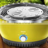 In Door Battery Operated Stainless Steel Charcoal BBQ Grill