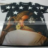 Sublimation Custom Made T-shirts, Custom Sublimation T Shirts, custom sublimation shirts for Promotion
