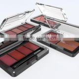 Luxury empty plastic compact case,cosmetic loose powder holder