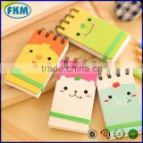 Mini Cartoon Animal Cover Notebooks Note Pads Notes Colorful Exercise Book