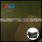 Bright Polyester Dobby Weave Fabric With PU/PVC Coating For Bags/Luggages/Shoes/Tent Using