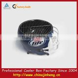 American football helmet metal cooler