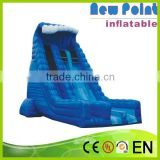 New Point Long Giant Inflatable Slide/snappy Fish Inflatable Slide