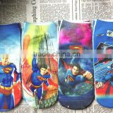 Wholesale Kids short Socks Fashion Superman Cars Printed Children Cartoon Socks