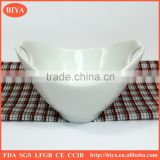 snack serving dish porcelain ware New design Ice Bucket/Oval ice Bucket/Shoe-shaped gold ingot ice bucket