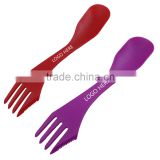 MAX 2016 Wholesale Travel Cutlery Set Plastic Spoon Fork Knife Set with Custom Logo                                                                                                         Supplier's Choice