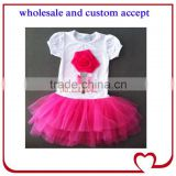 Practical supreme Quality fashion flower girl clothes