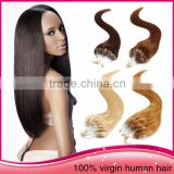 Wholesale Colorful Micro Ring Loop Hair Extension Bead India Virgin Human Hair Weave Extension