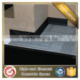 Industrial low price anodized clip inner corner aluminium wall skirting board for bathroom