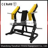 2016 new plate loaded gym machine/hammer strength fitness/body building Incline Chest Press