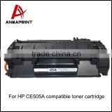 Wholesale CE505A toner cartridge 05A toner cartridge compatible for HP LaserJet P2030/2035/2035n printer