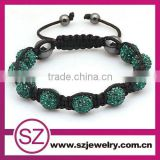 New Product 2016 Lady Hand 10 mm Clay Bracelet Wholesale Beaded Bracelet                                                                         Quality Choice