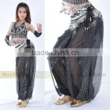 black.silver belly dance pants, bellydance outfits, costume for dancing, belly dancing costumes, dancing dress, bellydance pants