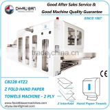 Z Folding Lamination Dispenser Hand Paper Making Machine