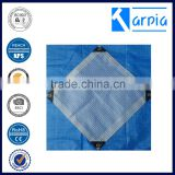 leno mesh fabric high quality tarpaulin factory price for roof cover