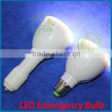 E27/E26/B22 rechargeable emergency bulb with remote control,85-265V E27b22 4W Rechargeable LED Emergency Light,