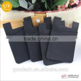 China-made selling microfiber screen cleaner sticker silicone smart wallet