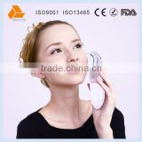 Handheld mini facial beauty device galvanic ion beauty massager