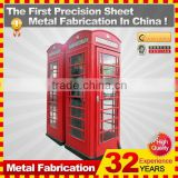 london steel telephone booth for sale
