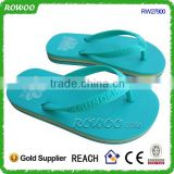 solid color beach eva slipper rubber slipper, new girl rubber slippers