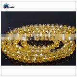 Arts and crafts beads electroplating glass beads european bead bracelet