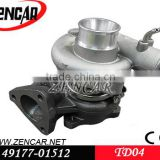 4D56 turbocharger for mitsubishi 49177-01512