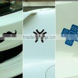 Top Quality Customized Car adhesive sticker paper and bumper sticker label,Glossy thank you stickers ---DH20364