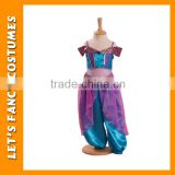 PGCC0074 girl purple belly dance dress