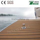 PVC flooring roll synthetic marine decking teak decking