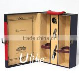 Hot Sell gift boxes twisted wine glass gift box wine glass packaging excellent wood gift boxes for wine bottles
