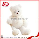 ICTI,SA8000 audit factory supplier soft white teddy bear bear plush toy