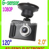 2.0 inch TFT FHD 1080P 120 Degree H.264 LCD Car Vehicle DVR Camera Driving Recorder Road Safety Guard Night Vision G-sensor
