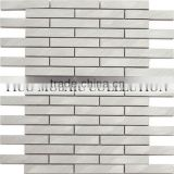 GST094-2 supply wall brick mosaic glass hexagon-shaped ceramic mosaic tiles porcelain mosaic tiles