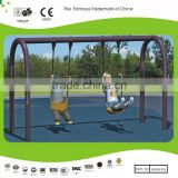 Hot Selling Playsets Free Standing Swing Set & Arch Swing 10.8ftx4.9ftx7.2ft galvanized steel pipe