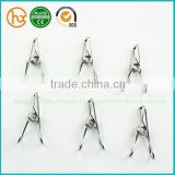 Stainless steel spring 8mm glass panel clamp