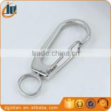 Stainless steel Keychains double Swivel Key chains
