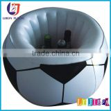 SUMMER HOT FOOTBALL INFLATABLE ICE BUCKET WITH LIDS / PLASTIC COOLER POOL WITH HOLDER